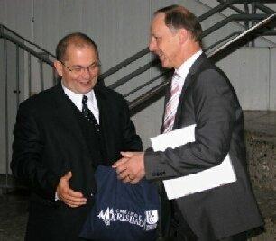 Norbert Enke und Rudi Knodel