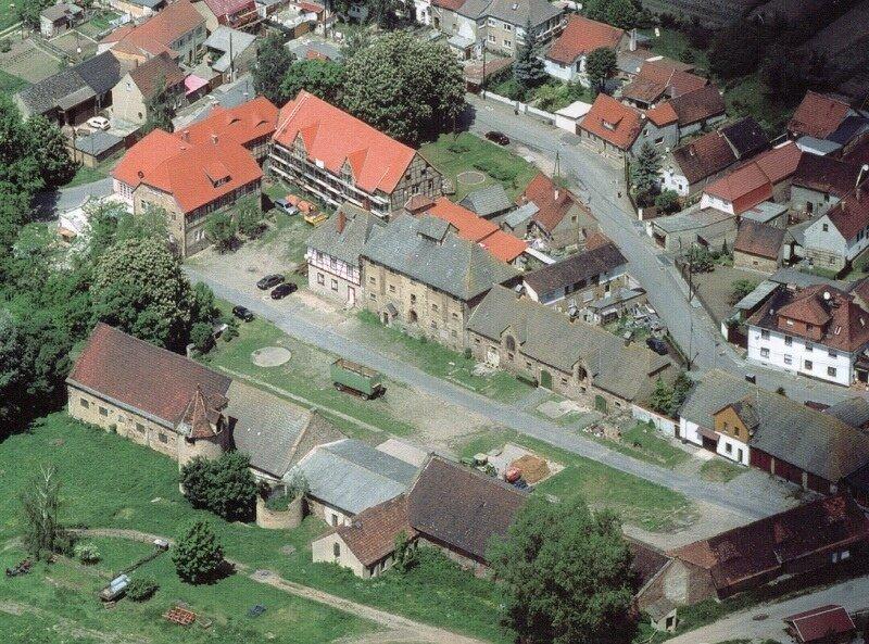 Luftbild Gutshof von Bismarck