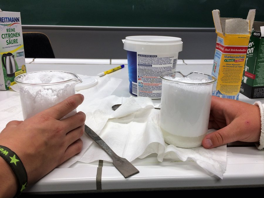 Schaumexperiment