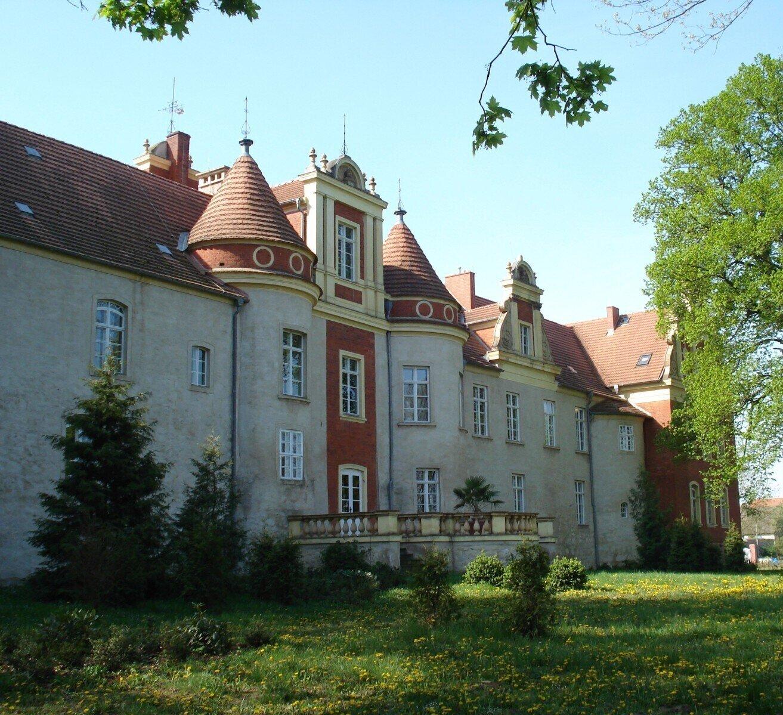 Rückseite des Schlosses
