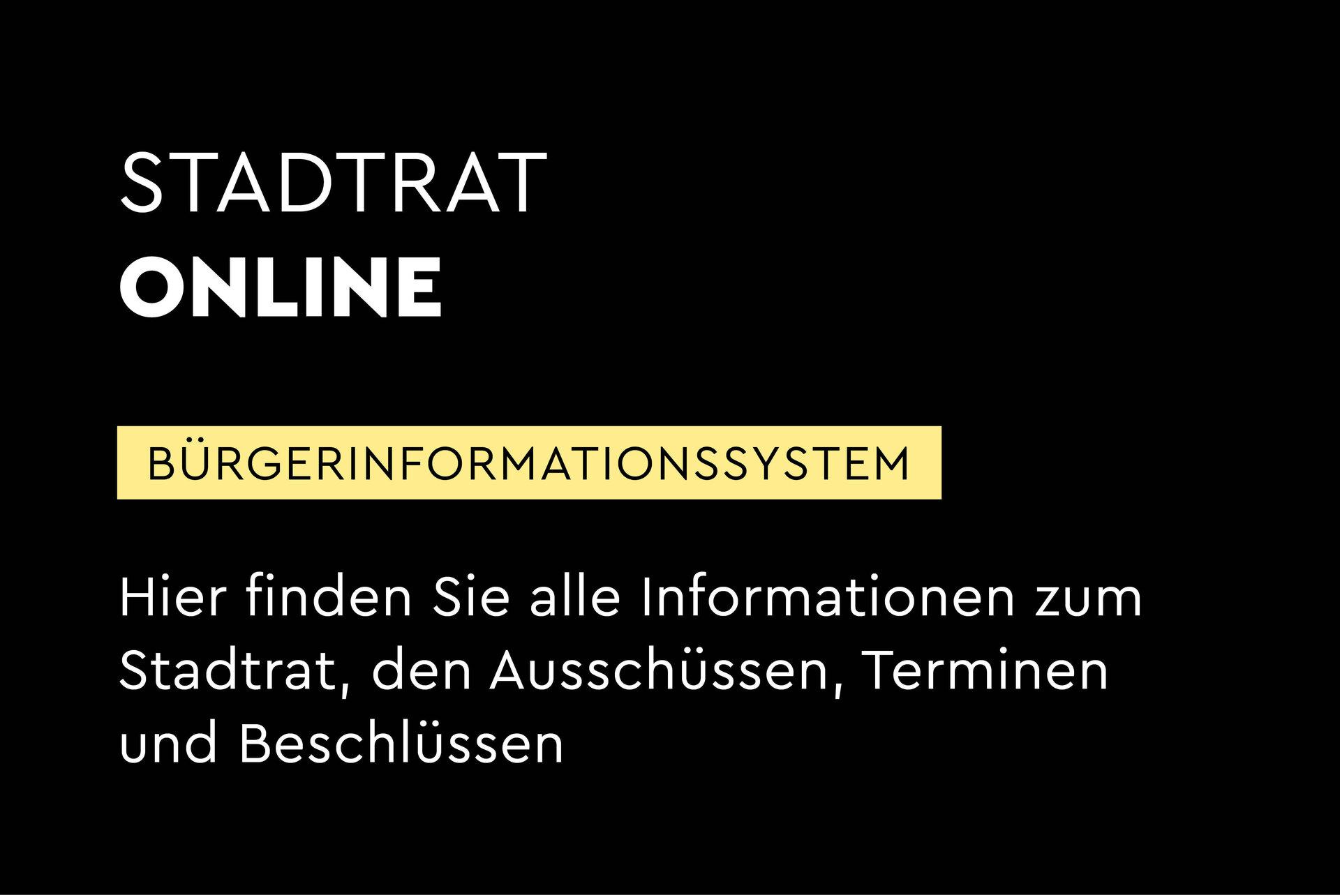 Bürgerinformationssystem