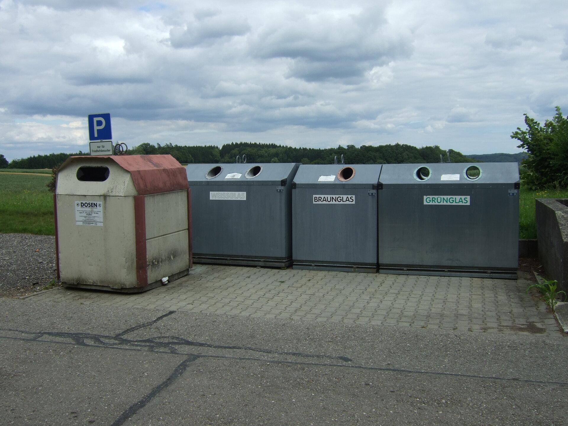 Wertstoffinsel Gabelbachergreut