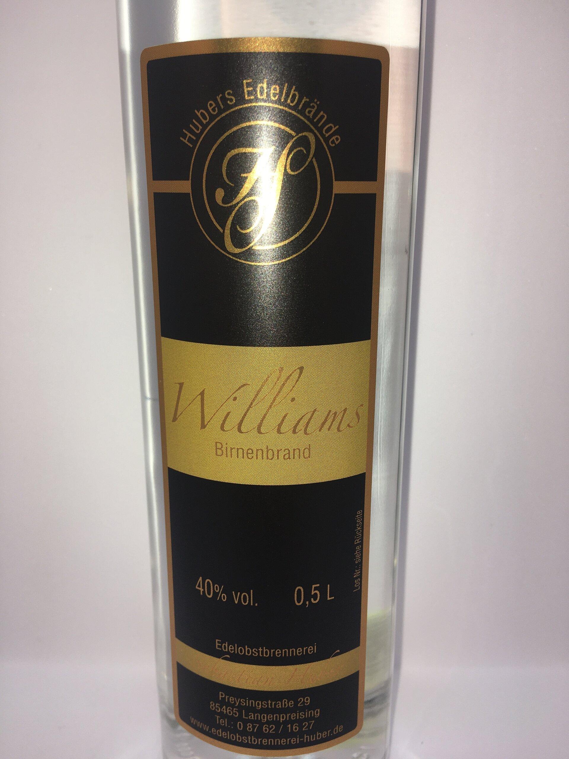 Williams Etikett