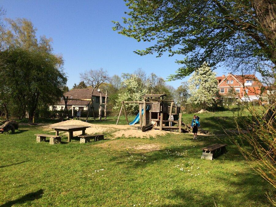 Spielplatz in der Dorfmitte