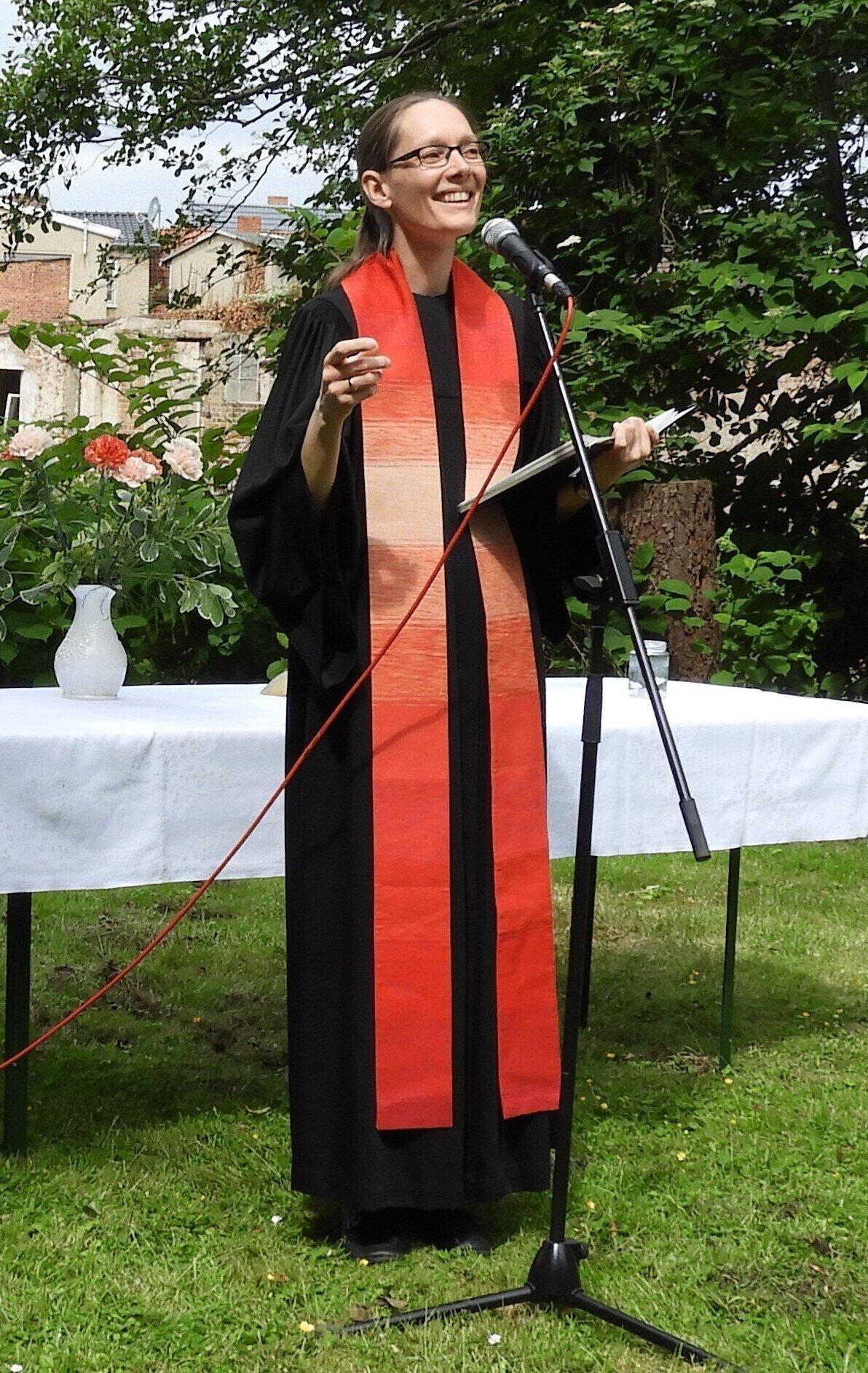 Pfarrerin Verena Mittermaier