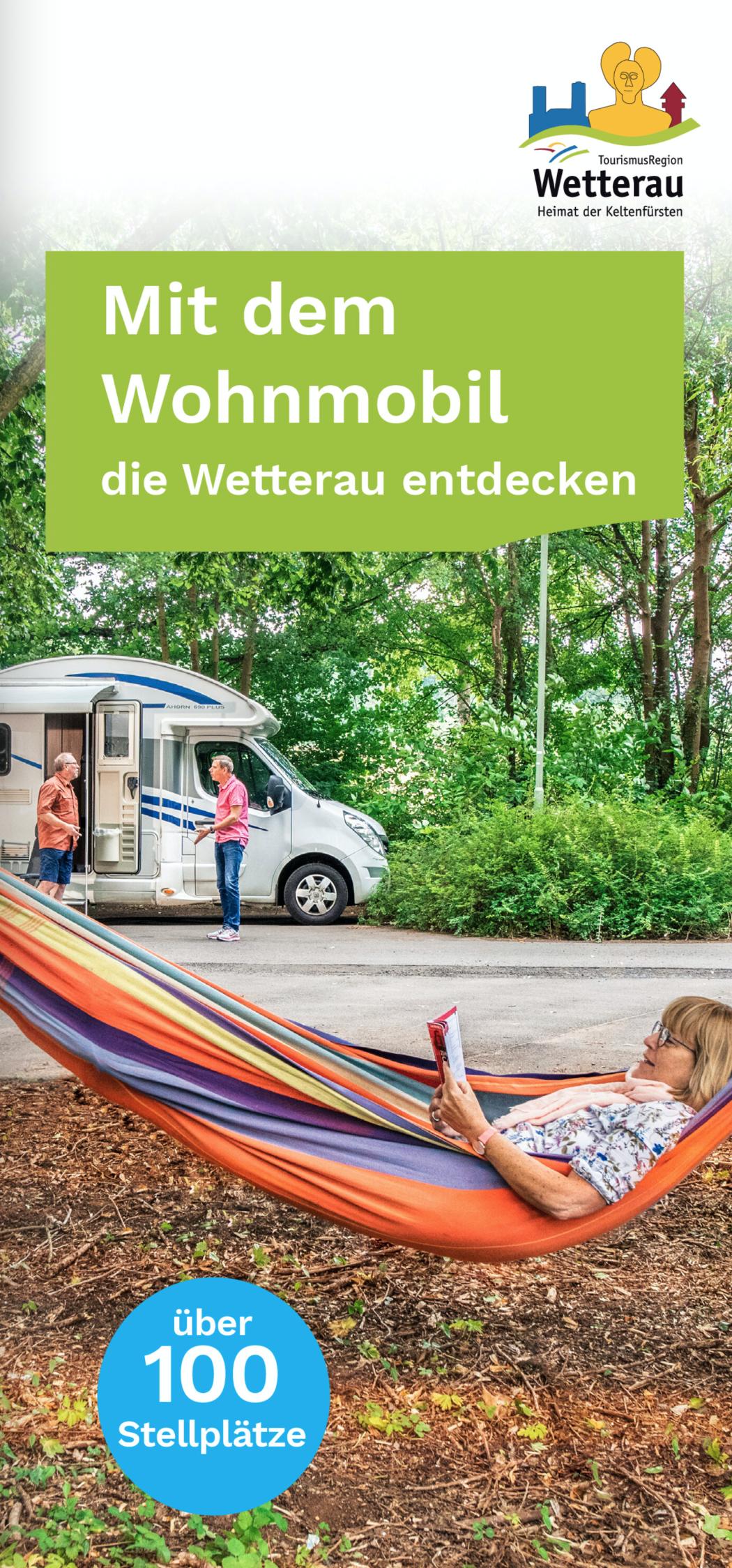 """Broschüre """"Mit dem Wohnmobil die Wetterau entdecken"""""""