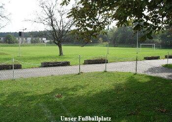 Fußballplatz Gemeinde Tröbitz