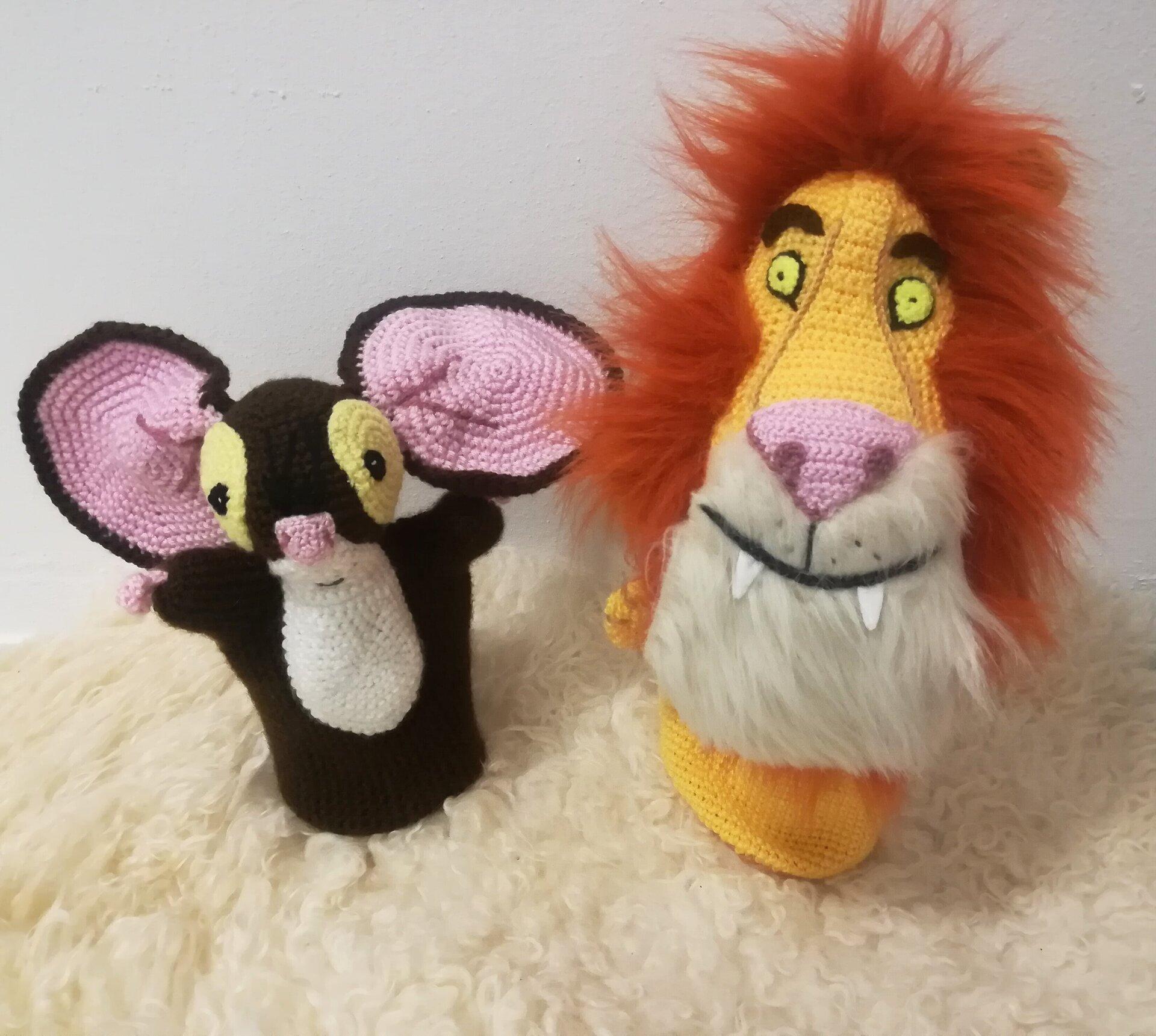 Maus und Löwe