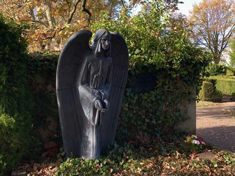 Friedhof Bad Schmiedeberg (Foto A. Montenbruck)