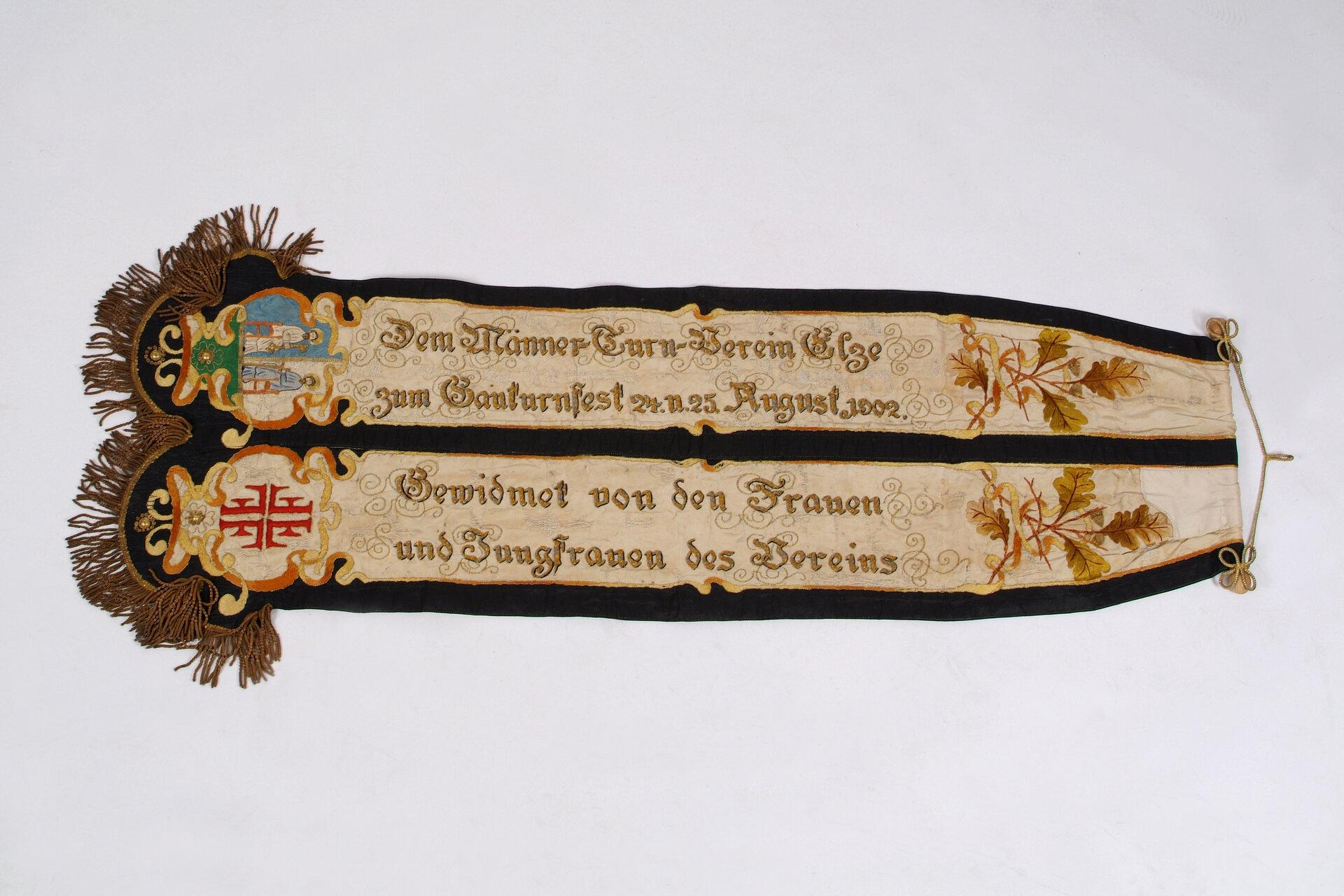 Fahnenband 1902
