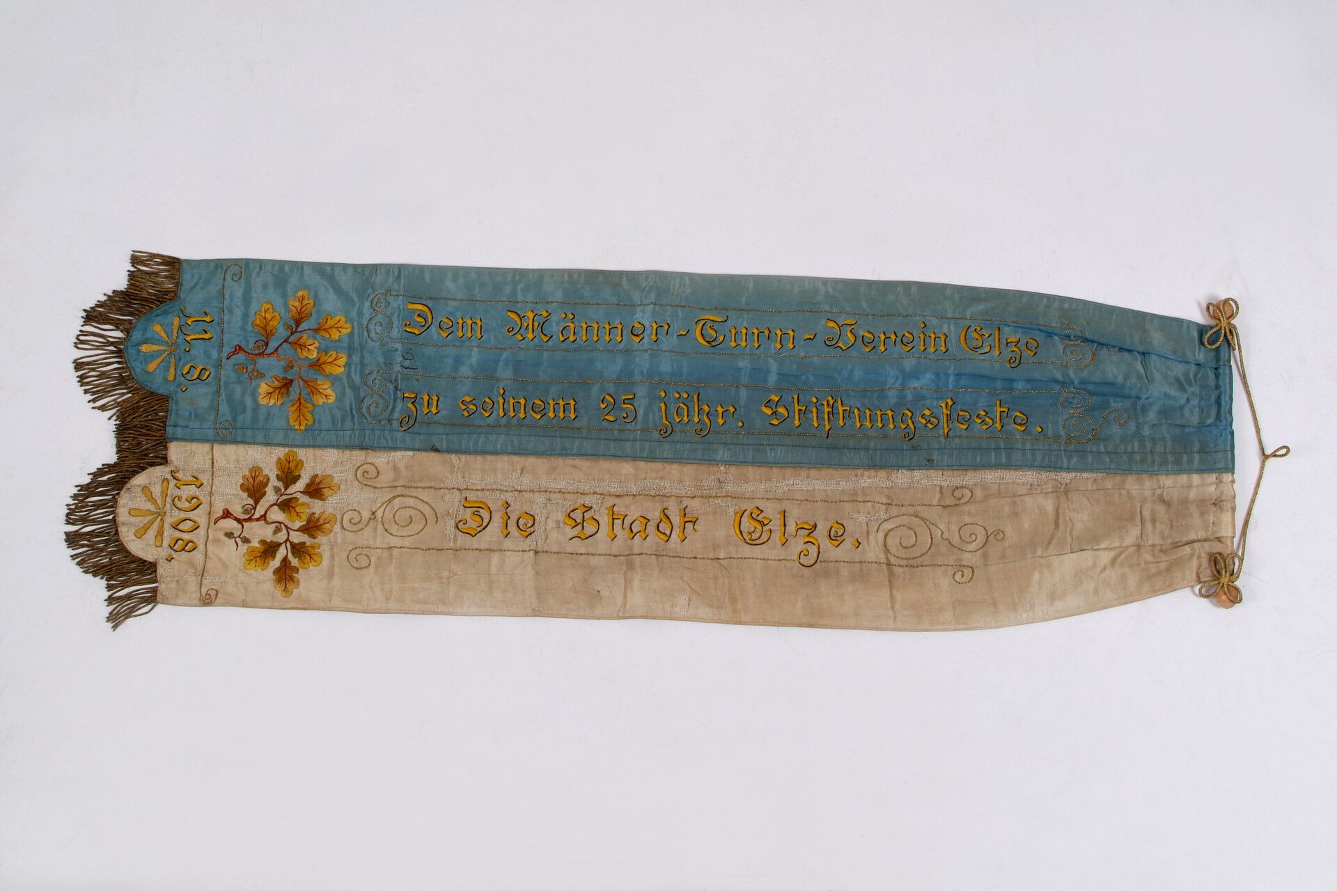 Fahnenband 1908