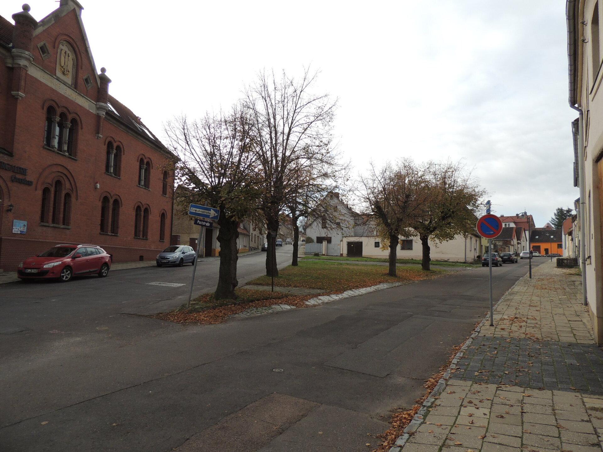 Freimarkt Ecke Poststraße Blickrichtung Südwest (Pfitze)
