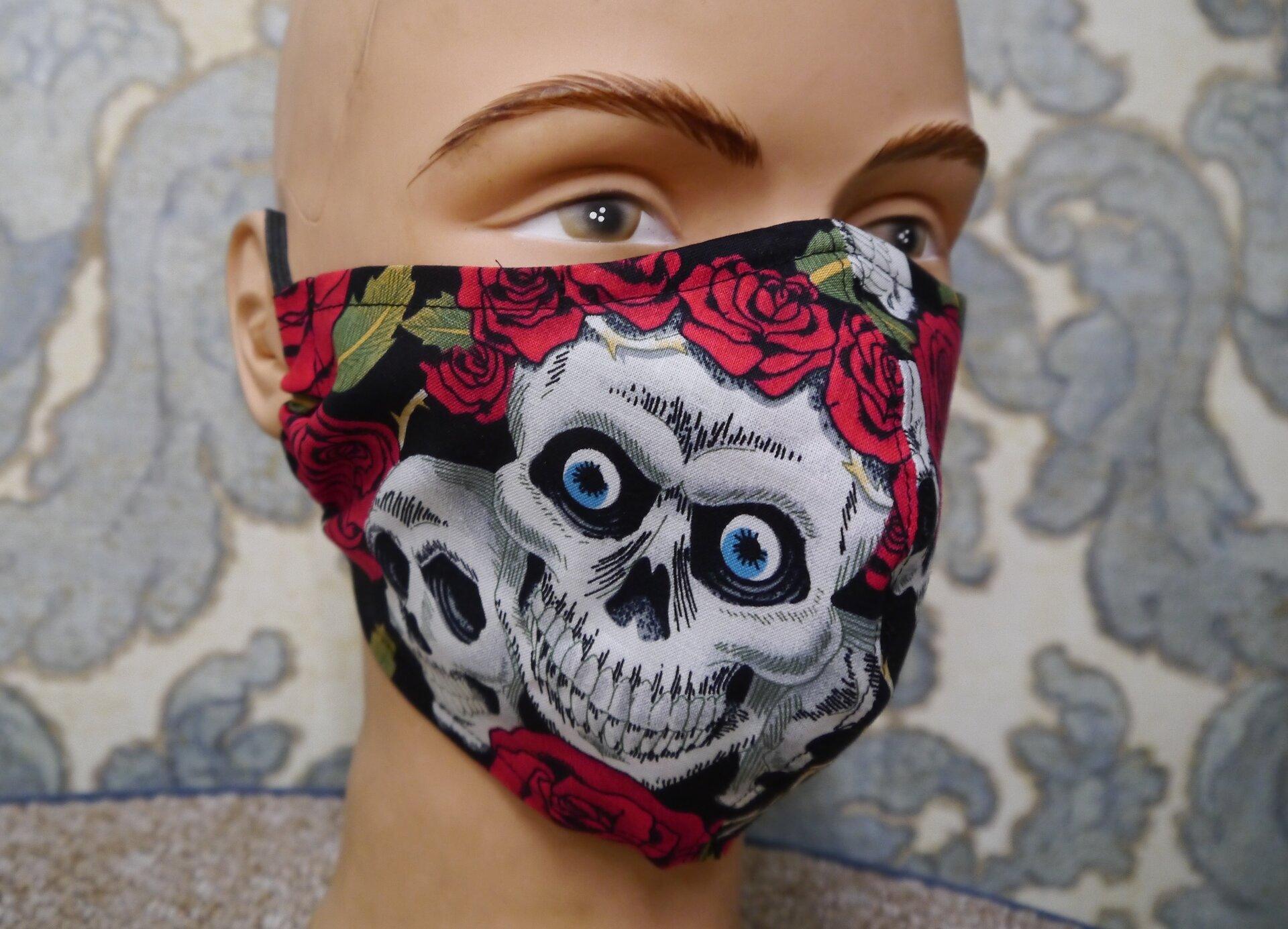 Maske Totenkopf
