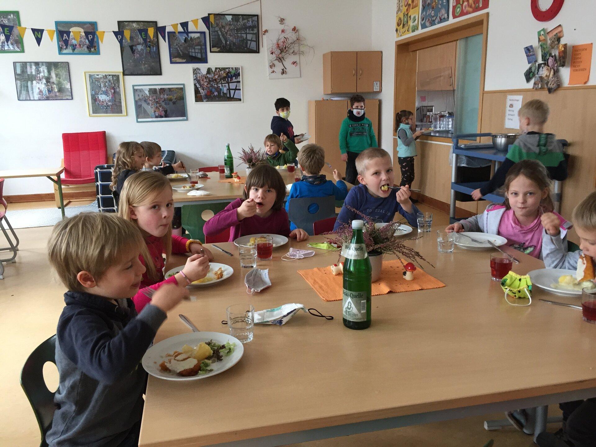 Mittagessen Erstklässler