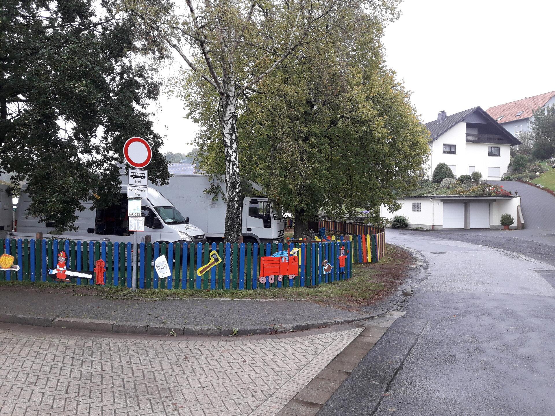 Zaun Spielplatz Mengsberg