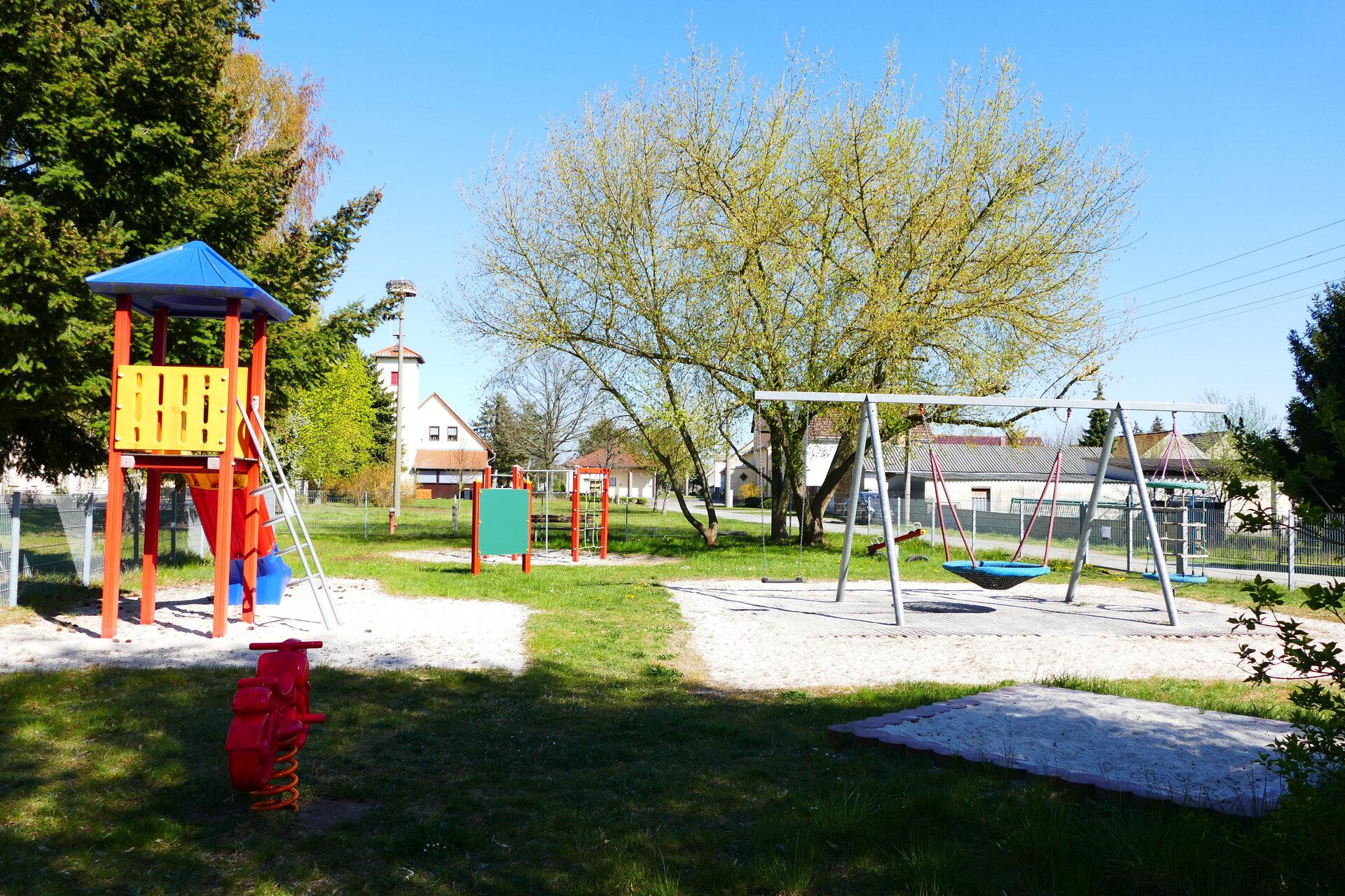 Spielplatz Ortsteil Friedersdorf