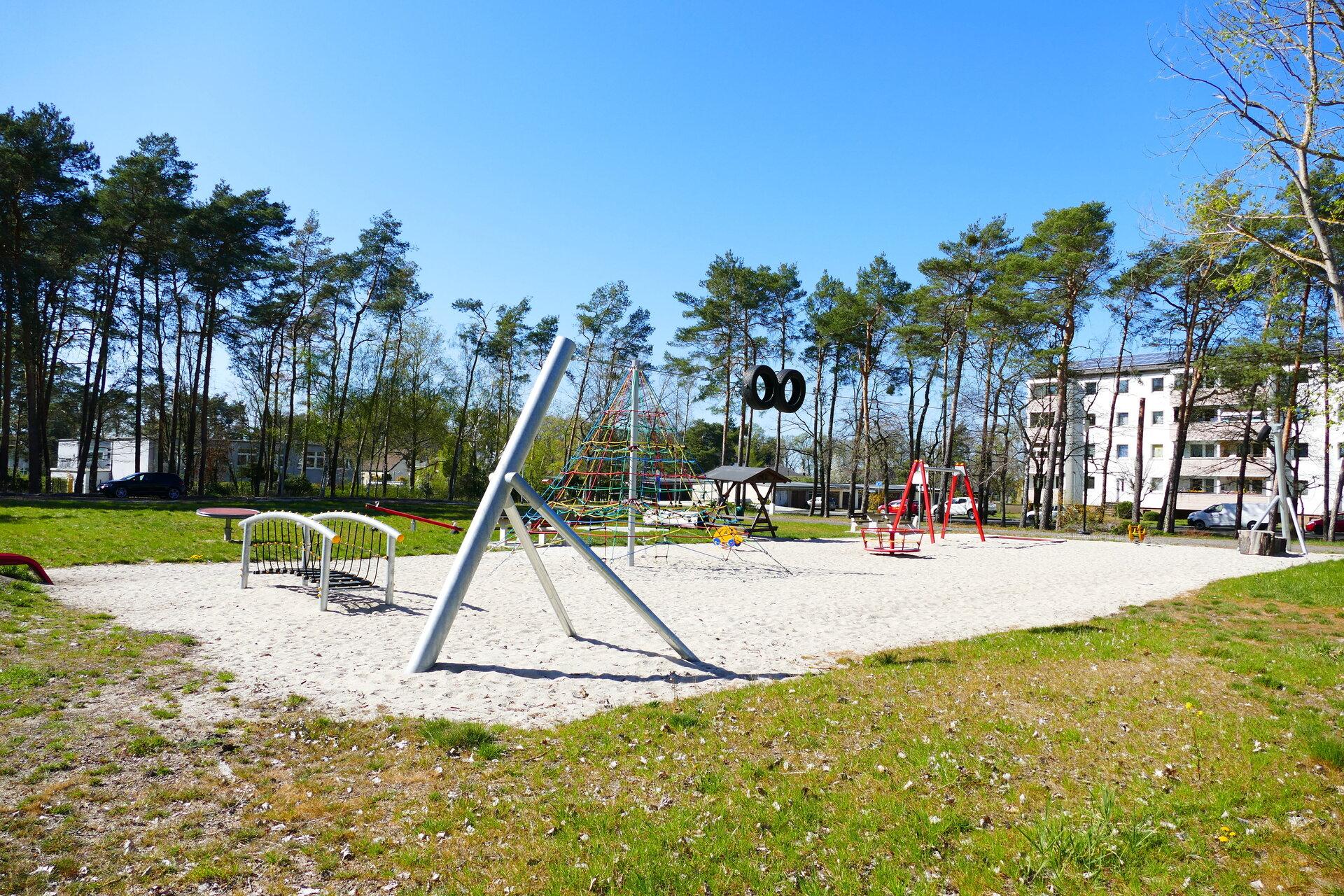 Spielplatz Ortsteil Rückersdorf
