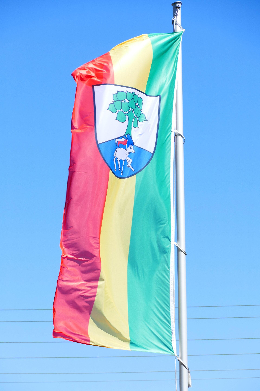 Die Gemeindefahne