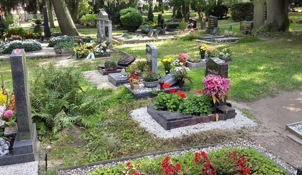 Urnenbegräbnisstätten auf dem Friedhof Querfurt