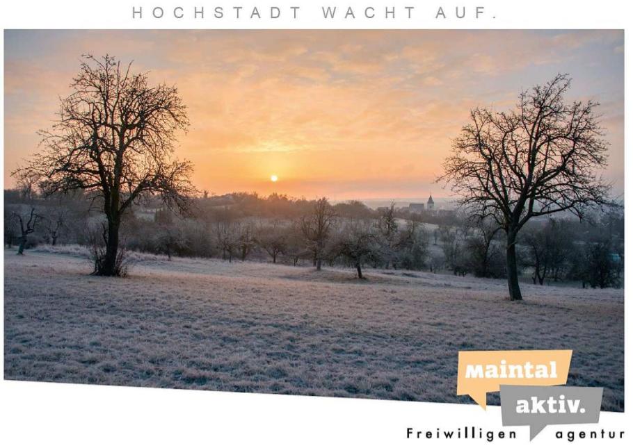 Link führt zur Seite der Postkarten-Serie der Maintal Aktiv - Freiwilligenagentur