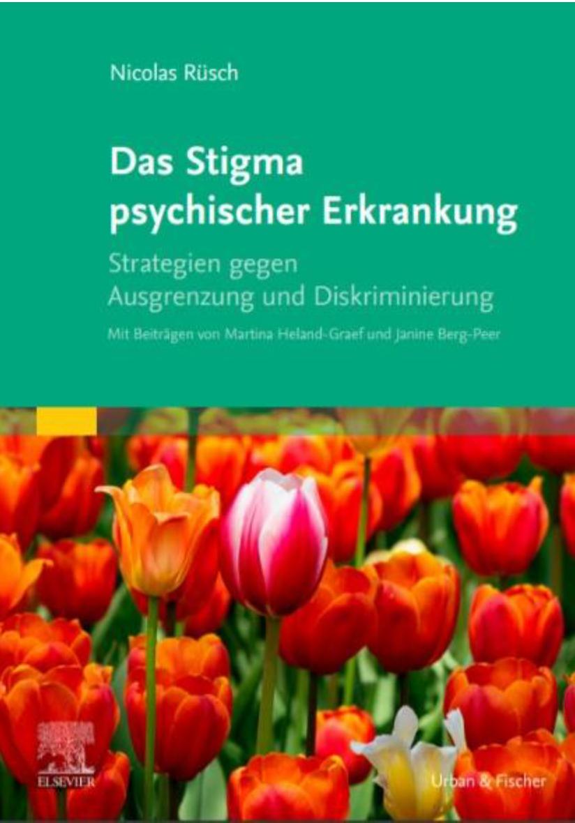 Das Stigma psychischer Erkrankungen Cover