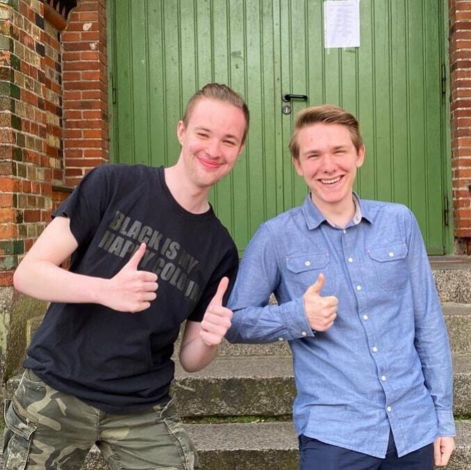 Tim und Johannes