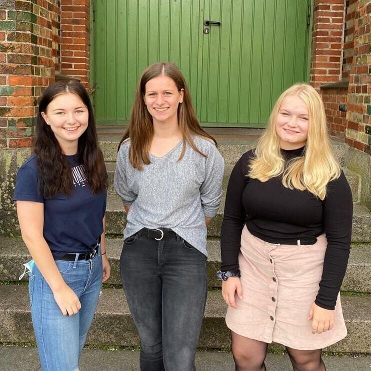 Emily, Jolanda und Annika