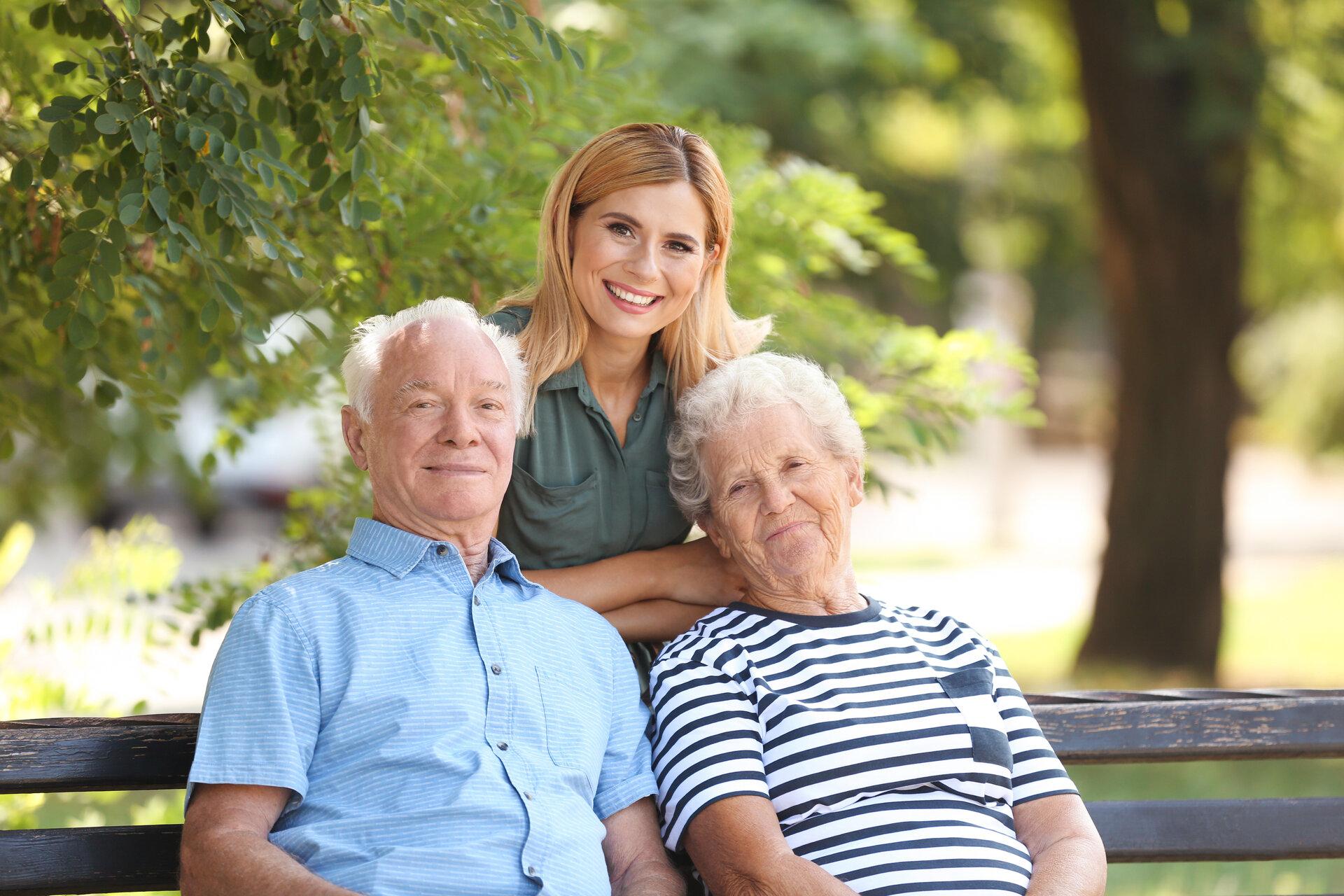 Einkauf mit Senioren