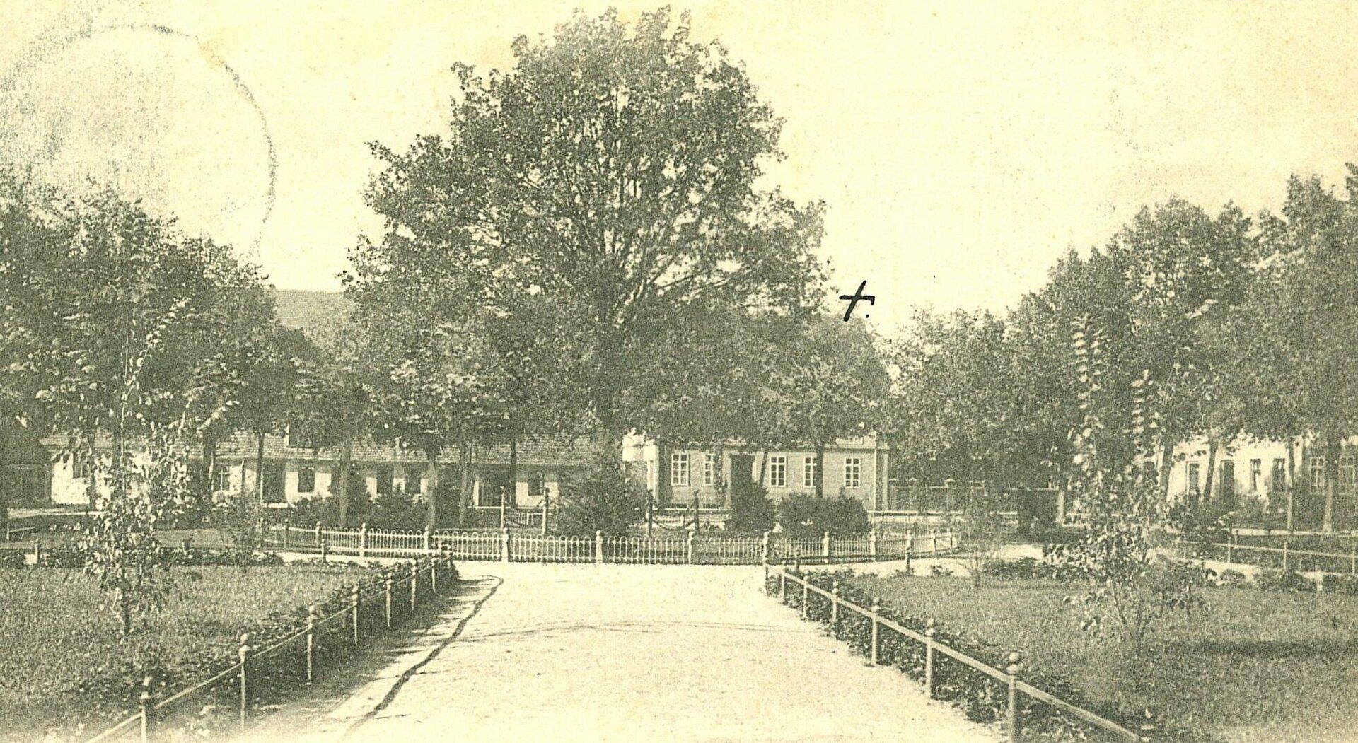 Foto: Stadtarchiv | Grahlplatz ohne Ulanendenkmal um 1900