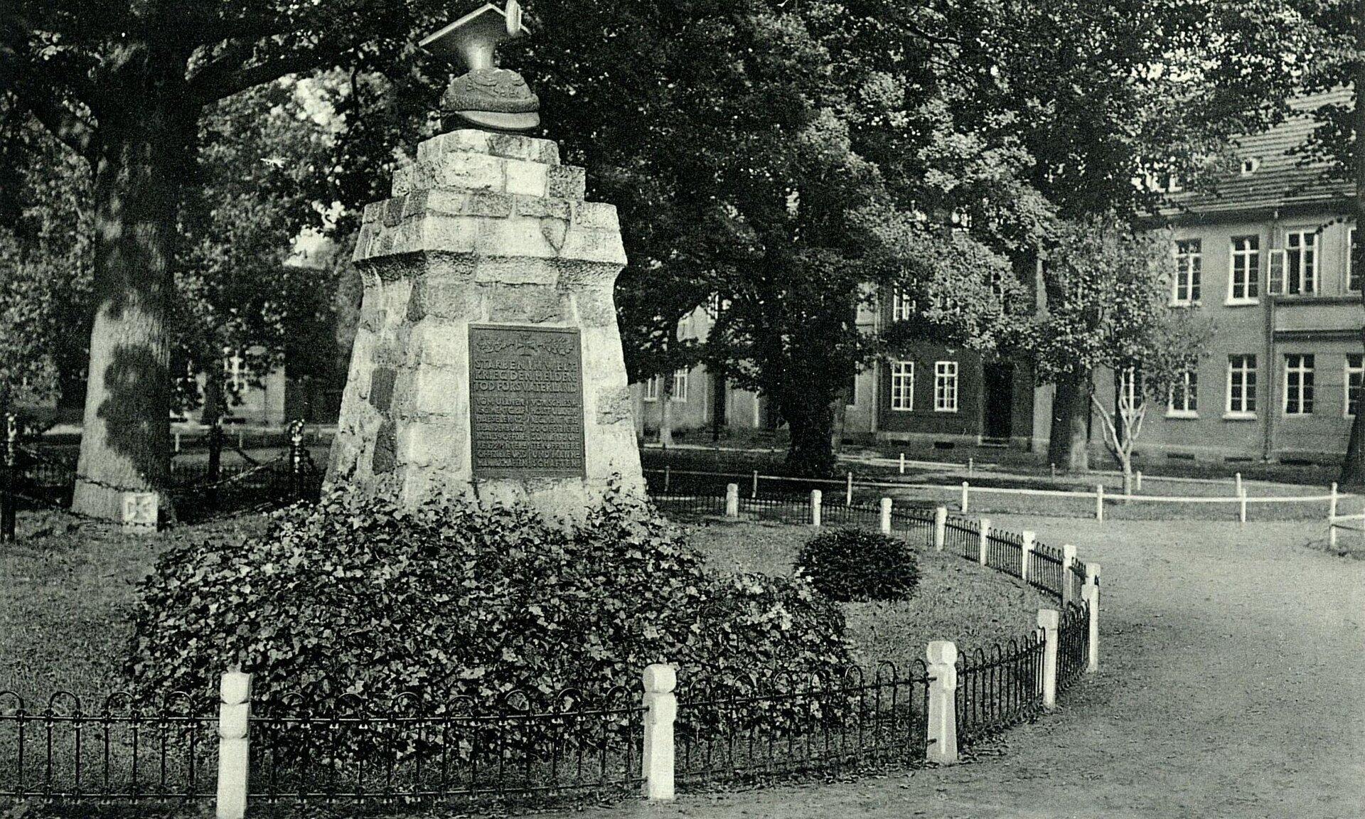 Foto: Stadtarchiv | Grahlplatz um 1925