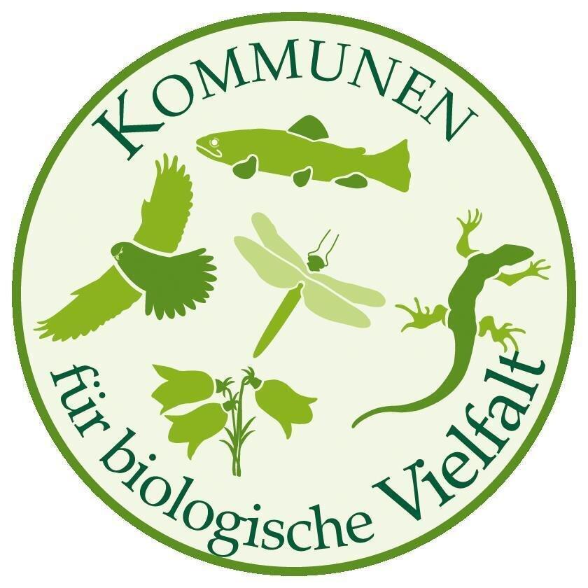Logo Kommunen für biologische Vielfalt