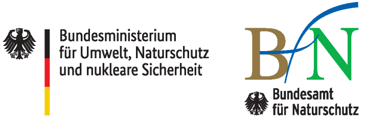 Logo Bundesministerium für Umwelt, Naturschutz und nukleare Sicherheit sowie des Bundesamtes für Naturschutz