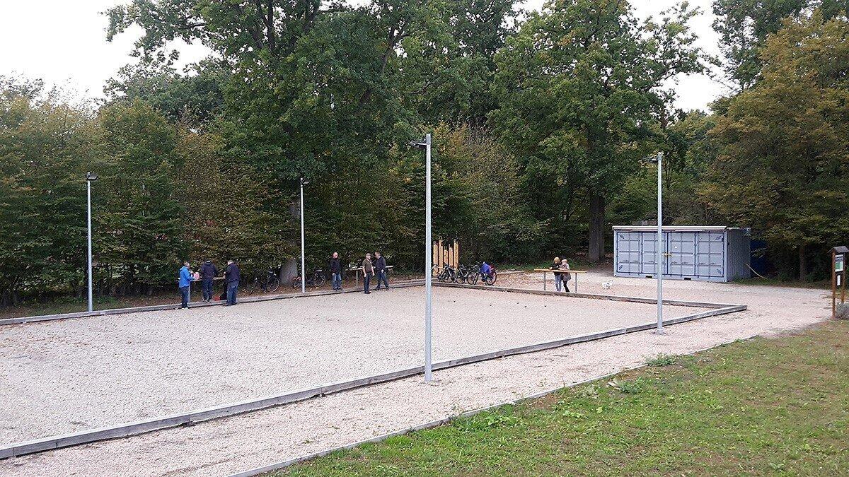 Boulodrome heute; Foto:STLB-Gruppe Boule- u. Aktivpark