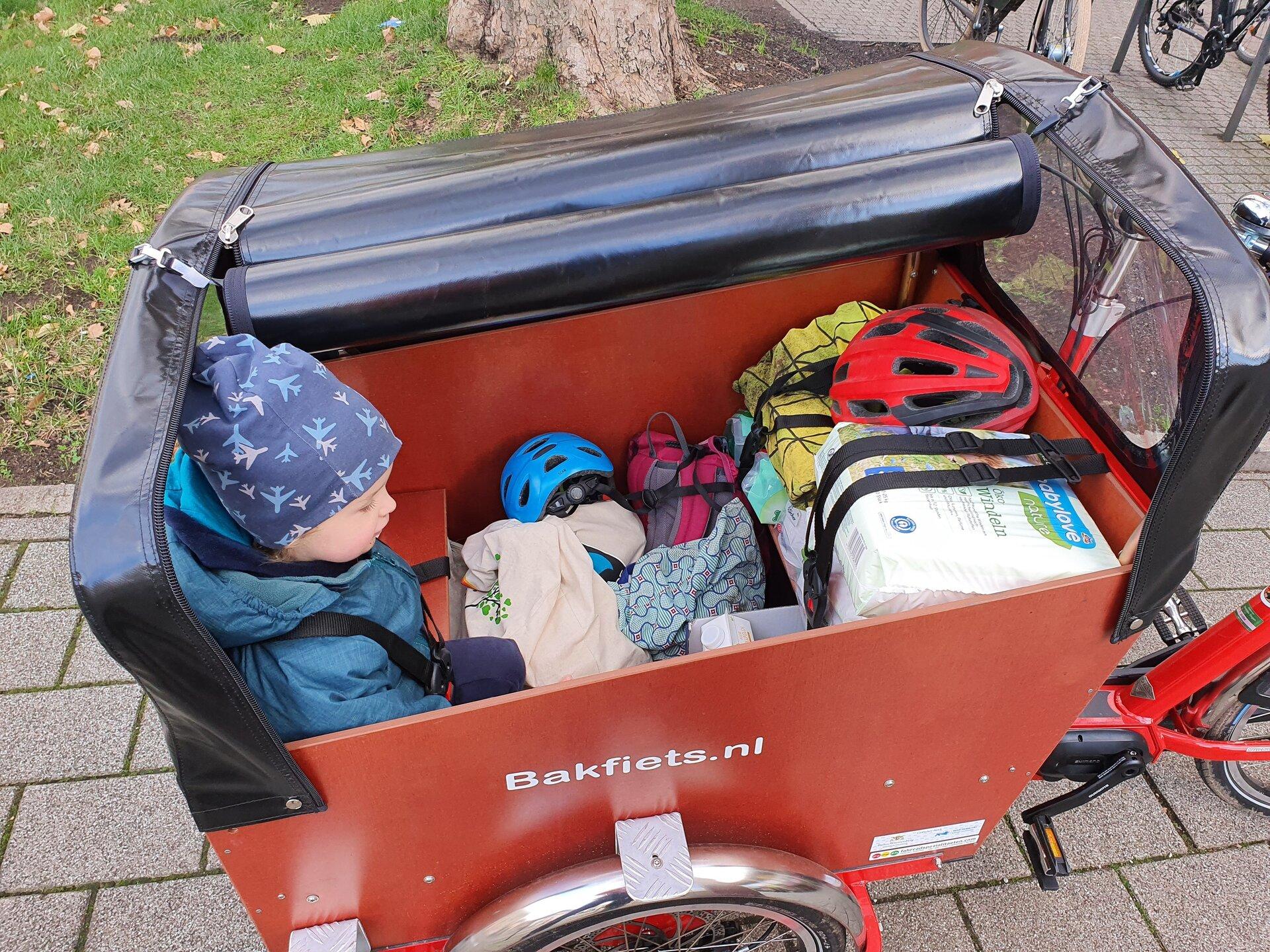 Lastenrad Kindertransport
