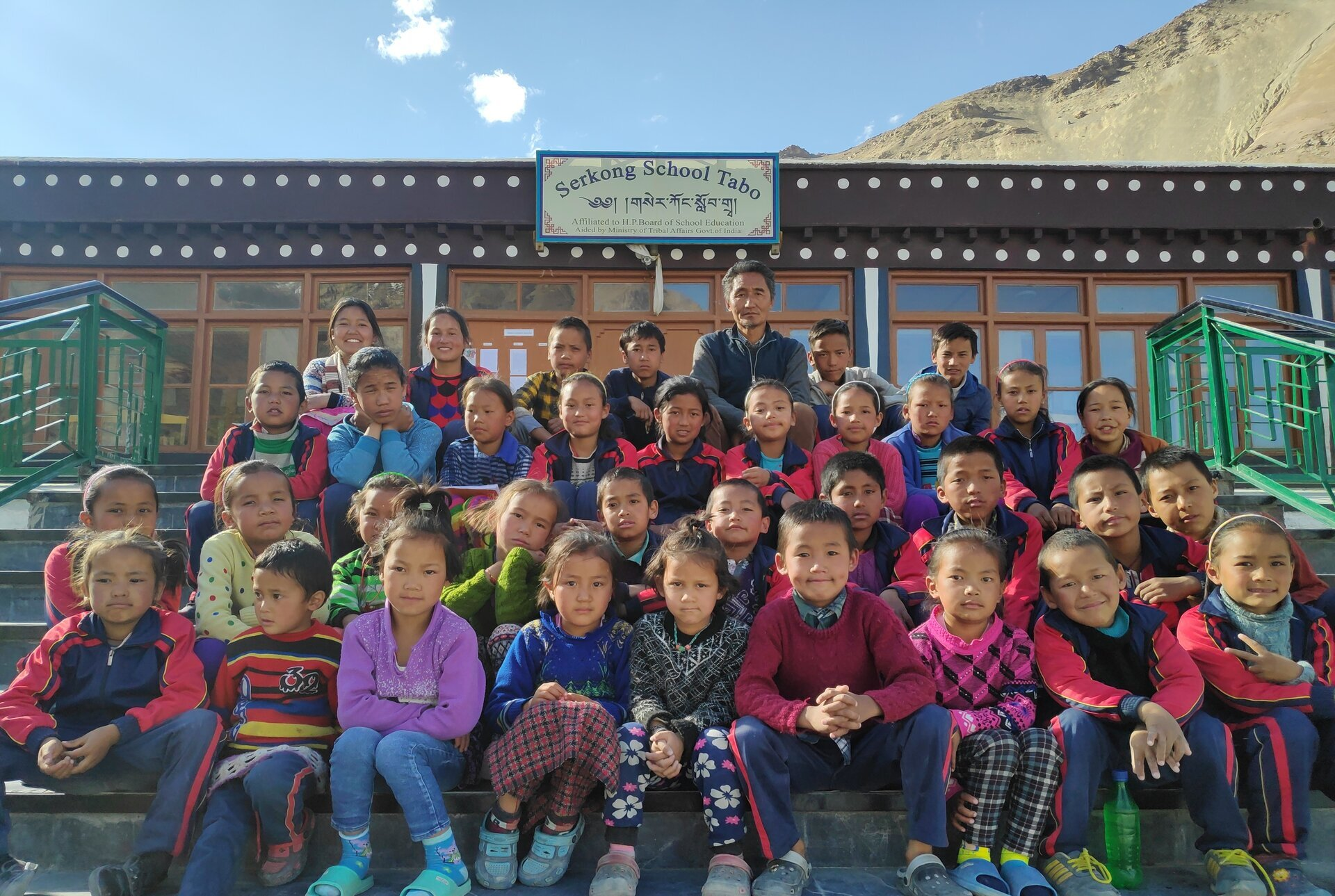 Taking Serkong School to new heights; group photo (2019) - Photo courtesy of Serkong School