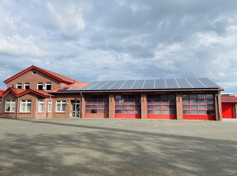 Feuerwehrhaus Komplett
