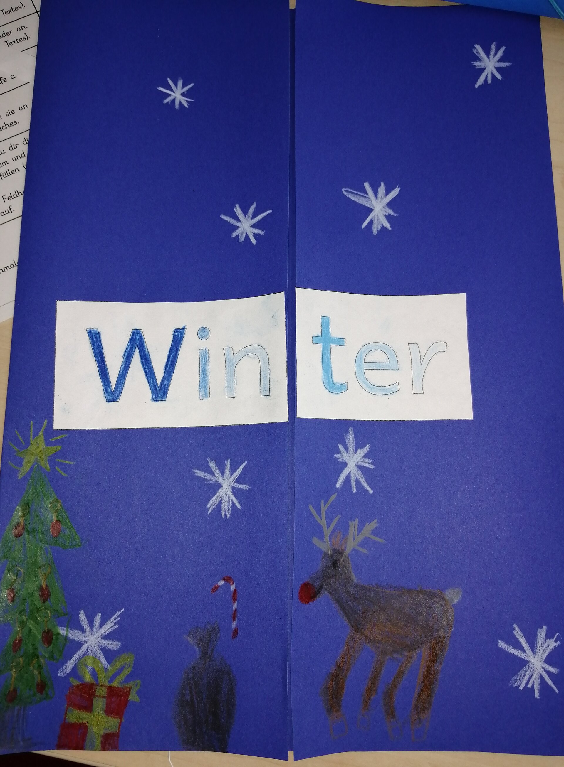 Winterlapbook