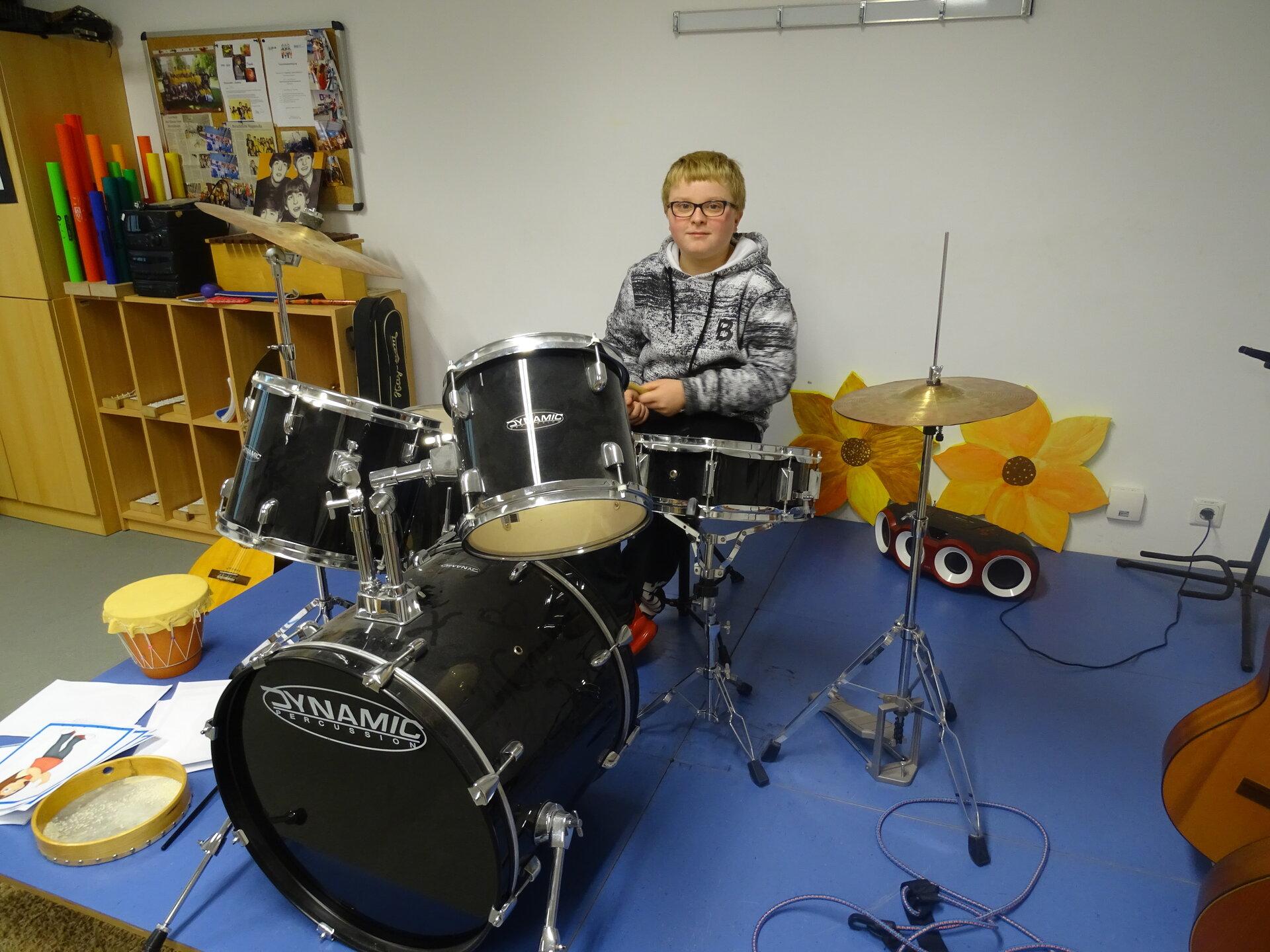 Schlagzeugtraining