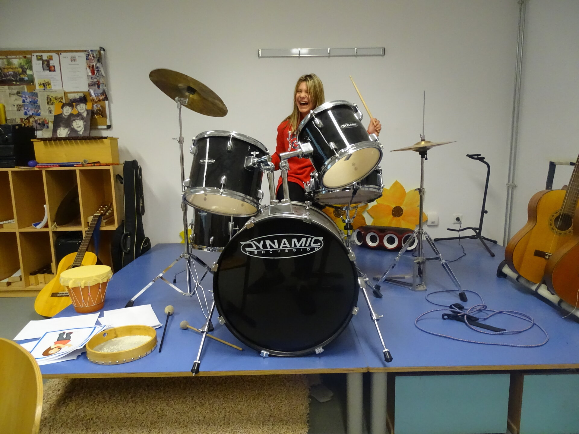 Schlagzeugtraining 2