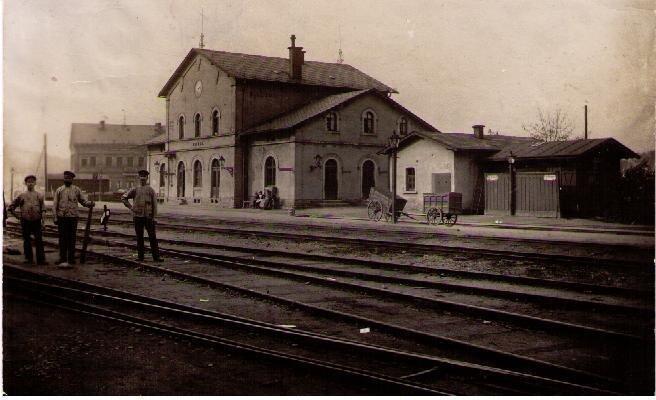 ater Bahnhof 1895