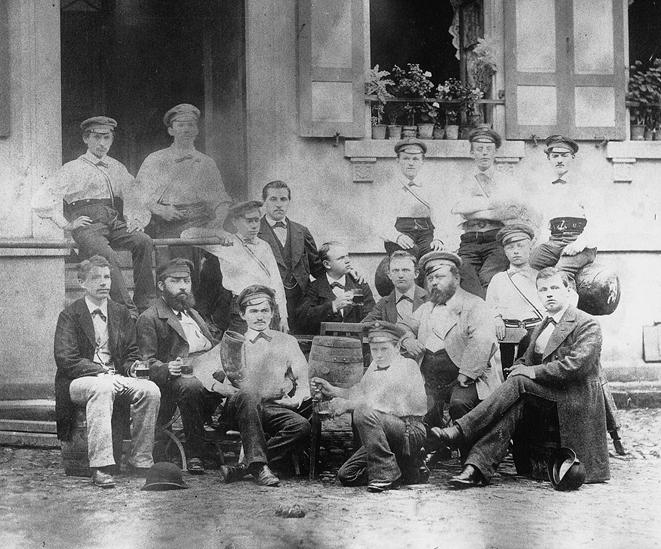 21. Januar 1877 Erste Versammlung