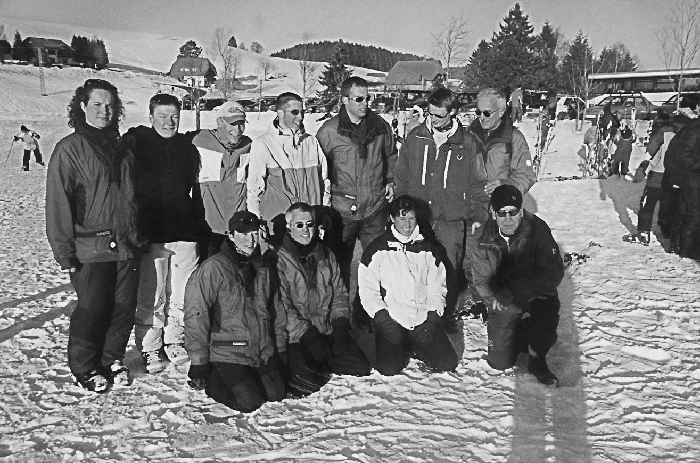 8. März 1982 Gründung der Skiabteilung