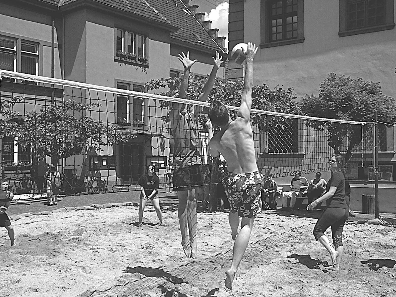1995 Gründung der Volleyball Abteilung