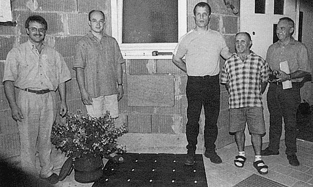 21. Juni 2000 Grundsteintafel