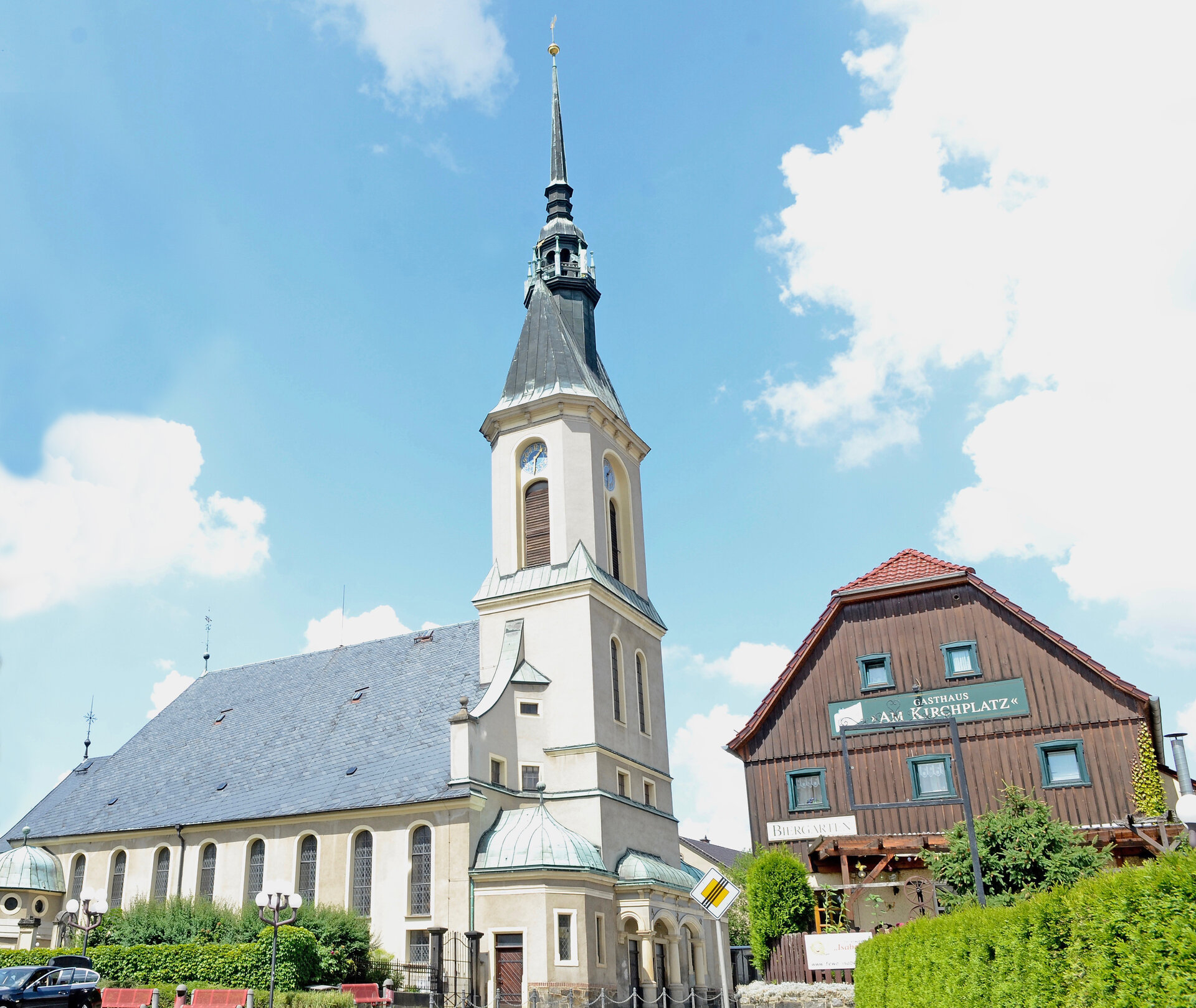 Kirche Großpostwitz