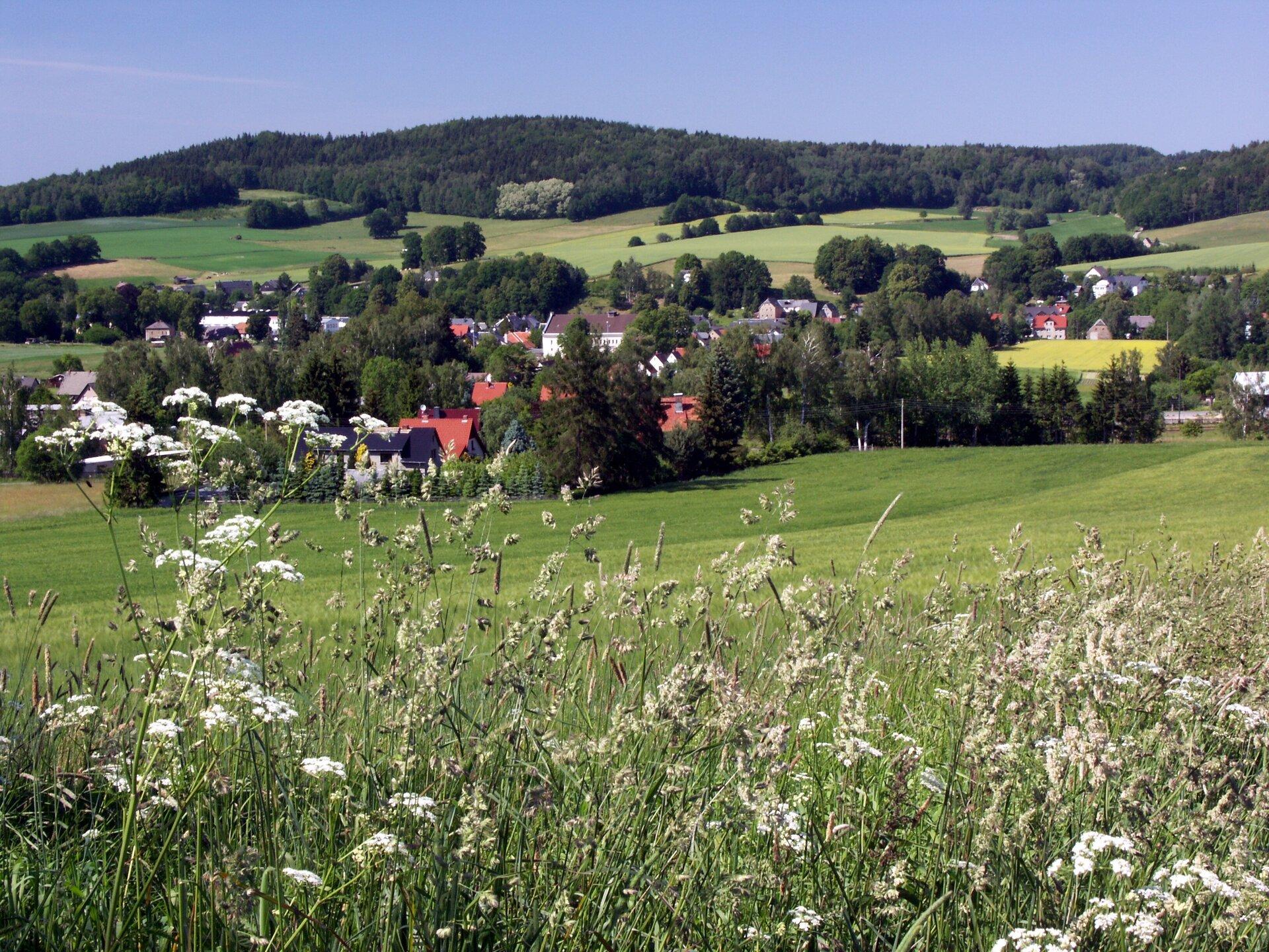 Blick vom Hänscheberg