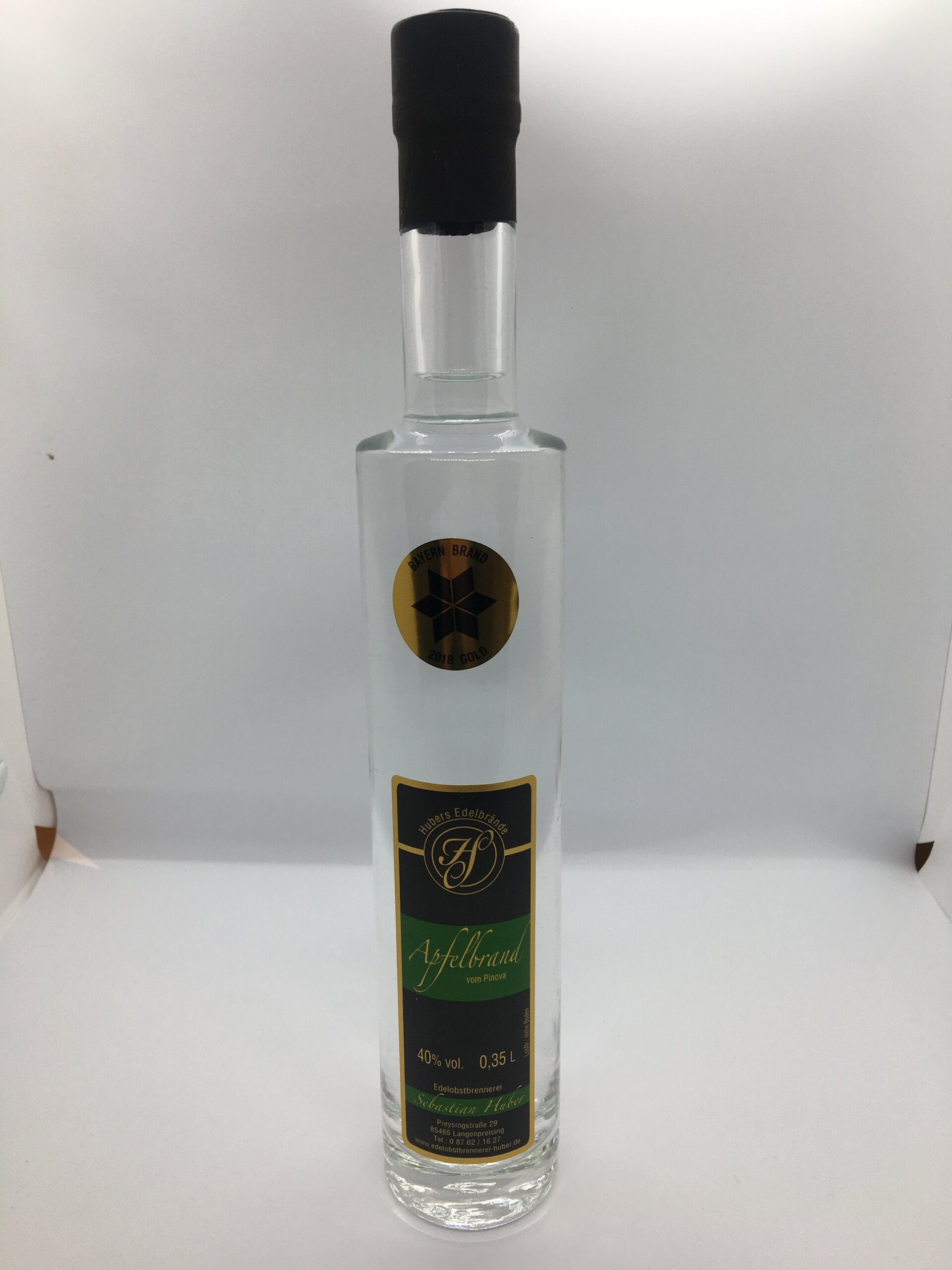 Apfelbrand Pinova