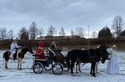 Nikolaus mit Kutsche