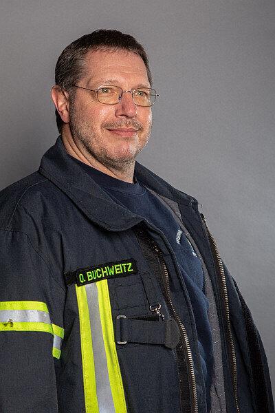 Ortsbrandmeister Claus Oliver Buchweitz