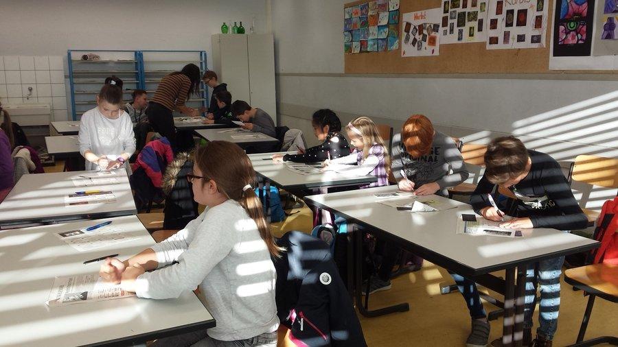 Besuch des Gymnasiums Schwarzenberg Klasse 4